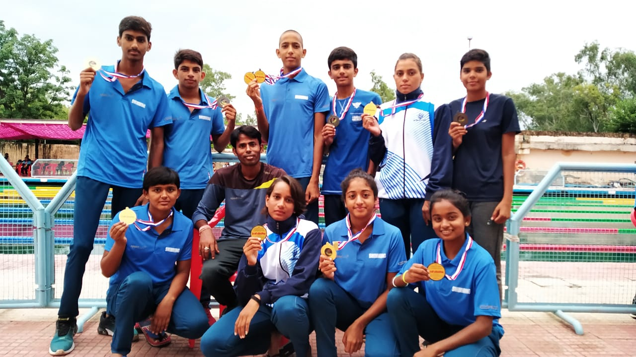 CBSE Cluster Swimming 2nd Position in Ajmer Region